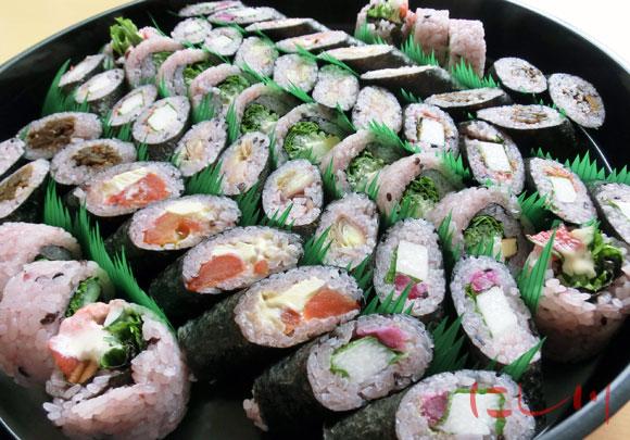 野菜寿司盛り合わせ
