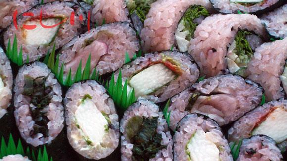 野菜寿司の盛り合わせ